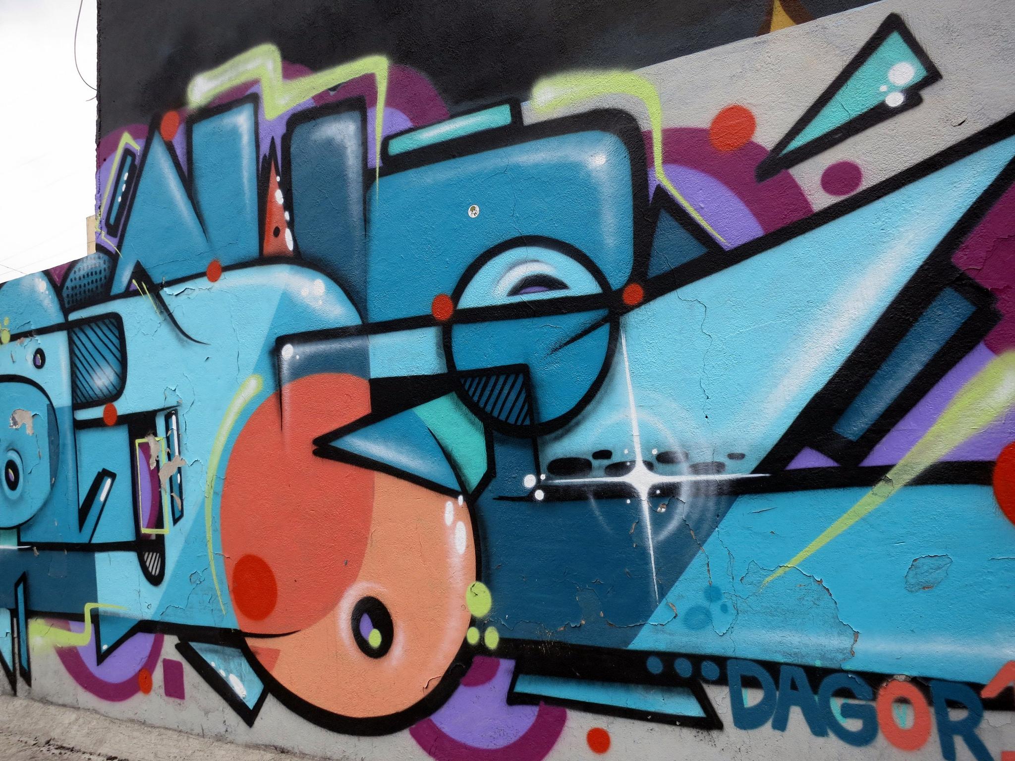 Street art, San Miguel Chapultepec © Angélica Portales/Flickr