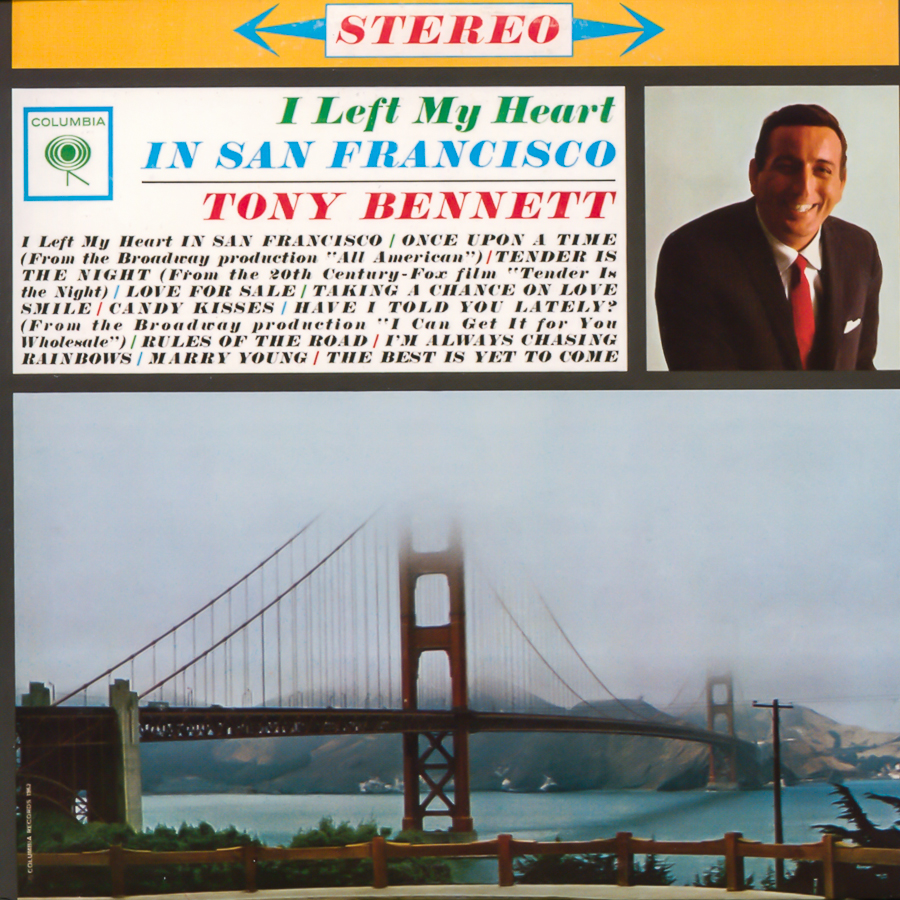 I Left My Heart in San Francisco album © Jazz Guy/ flickr