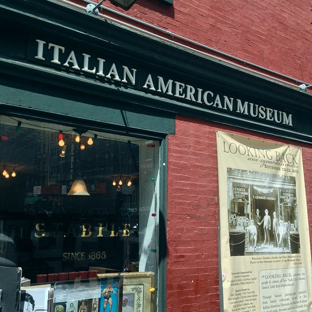 The Italian American Museum is housed in what was the Banca Stabile, which was much more than just a bank. It was also a boarding house, community center and an agency from which to book sea passage to Italy. Objects relating to all of these identities no | © Mark B. Schlemmer/Flickr