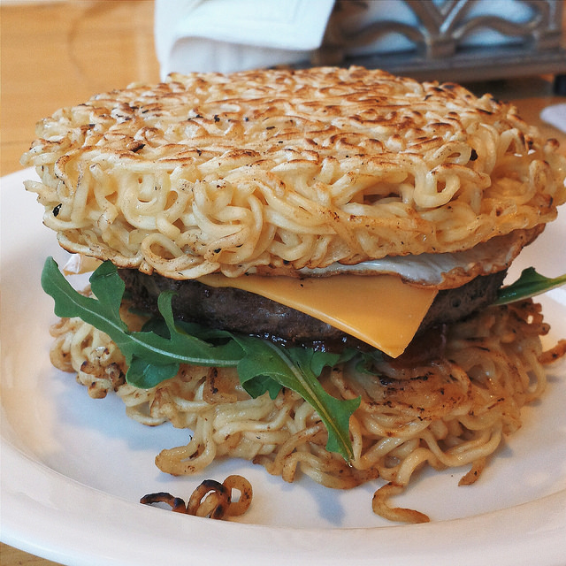 Ramen Burger|fat_albert9631 Flickr