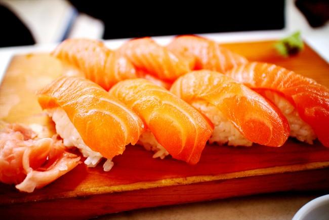 Sake Sushi | © Christian Kadluba/Flickr