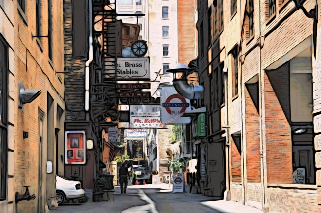 Printer's Alley © Ben Spalding/ Flickr