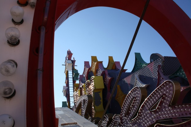 The Neon Boneyard at the Neon Museum © Simon King/Flickr