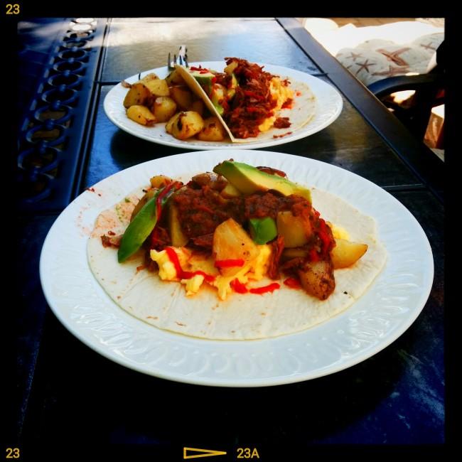 Homeade breakfast tacos | © Kevin Marks/ Flickr