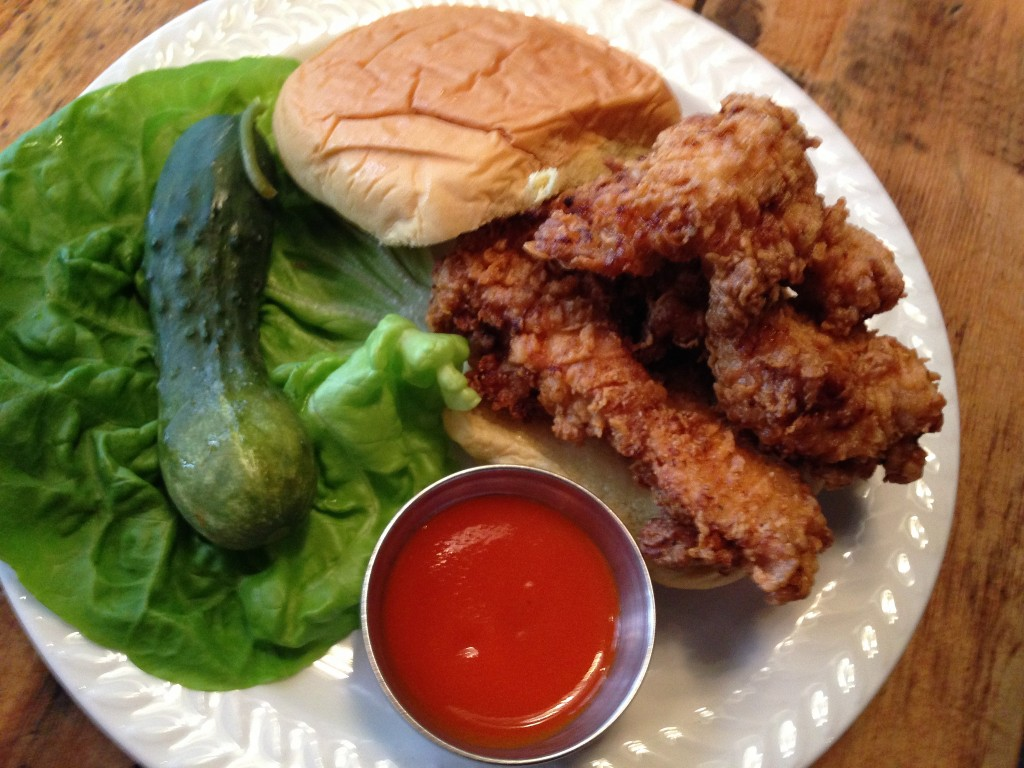 Buffalo Chicken sandwich ©Neeta Lind