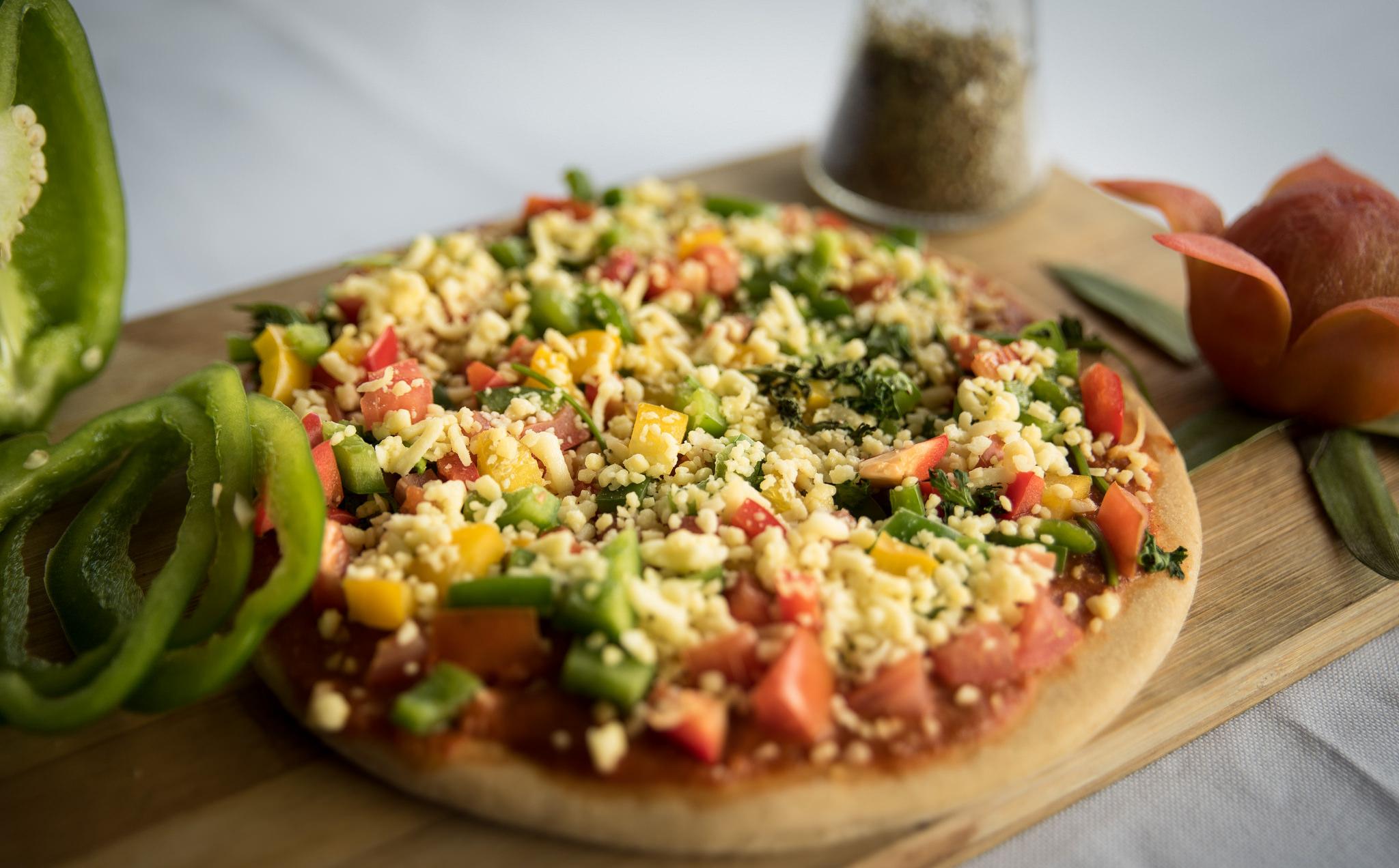 Pizza, Veg|© Sharada Prasad CS/Flickr