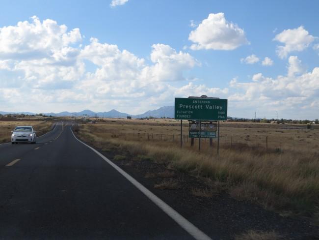 Entering Prescott Valley | © Ken Lund/Flickr