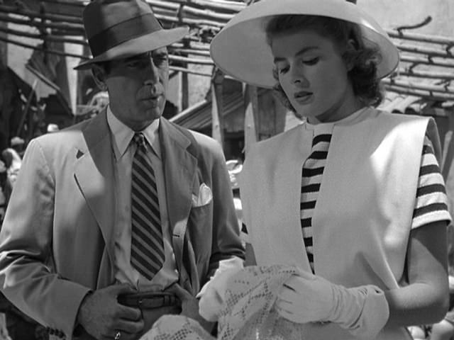 Humphrey Bogart and Ingrid Bergman in the film Casablanca I © Breve Storia del Cinema/Flickr