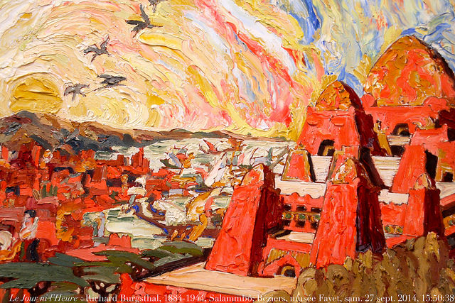 Le Jour ni l'Heure 2053 : Richard Burgsthal, 1884-1944, Salammbô (