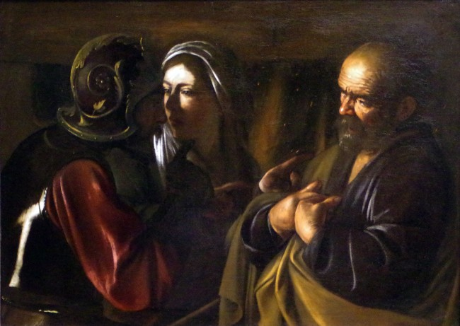 Caravaggio's The Denial of Saint Peter | ©Mike Steele/Flickr