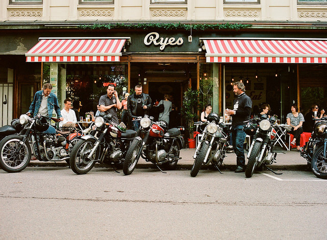 Vintage bikes at Ryes in Grünerløkka, Oslo, May 2014 | © Chris Wronski/Flickr