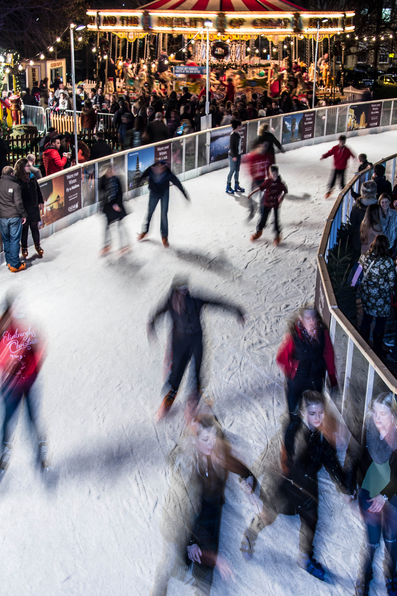 St Andrew Square Ice Rink | © Graham Campbell/Flickr