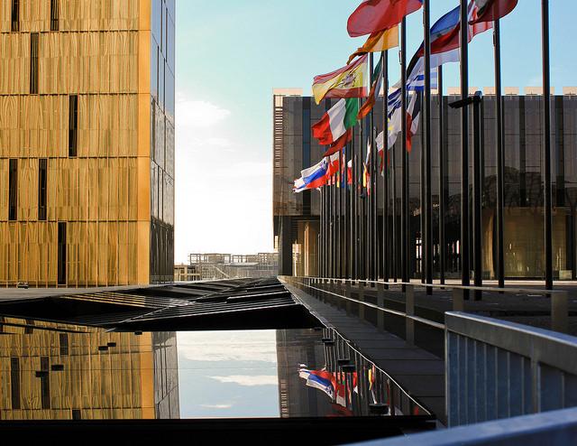 Outside the European Court of Justice, Kirchberg, Luxembourg © katarina_dzurekova/Flickr