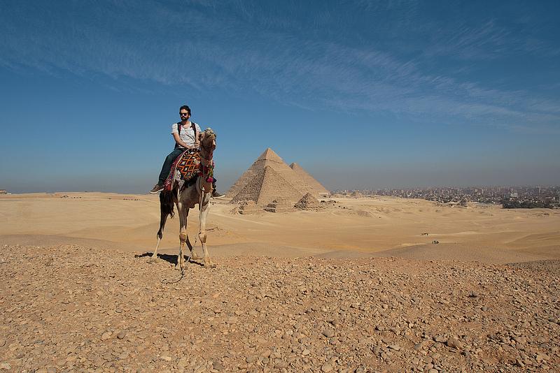 The Pyramids of Giza   ©Mr Seb/Flickr