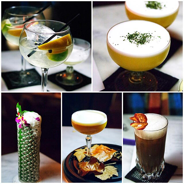 Cocktail collage from The Powder Keg © insatiablemunch/Flickr