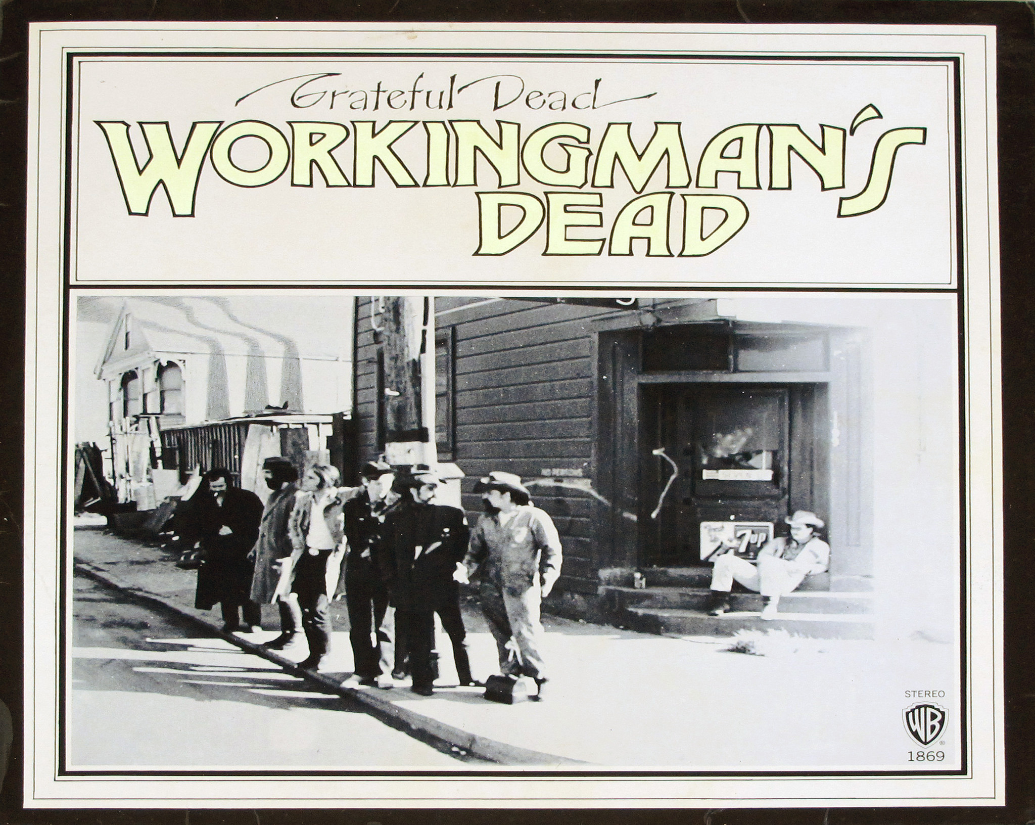 Workingman's Dead album © vinylmeister/ flickr