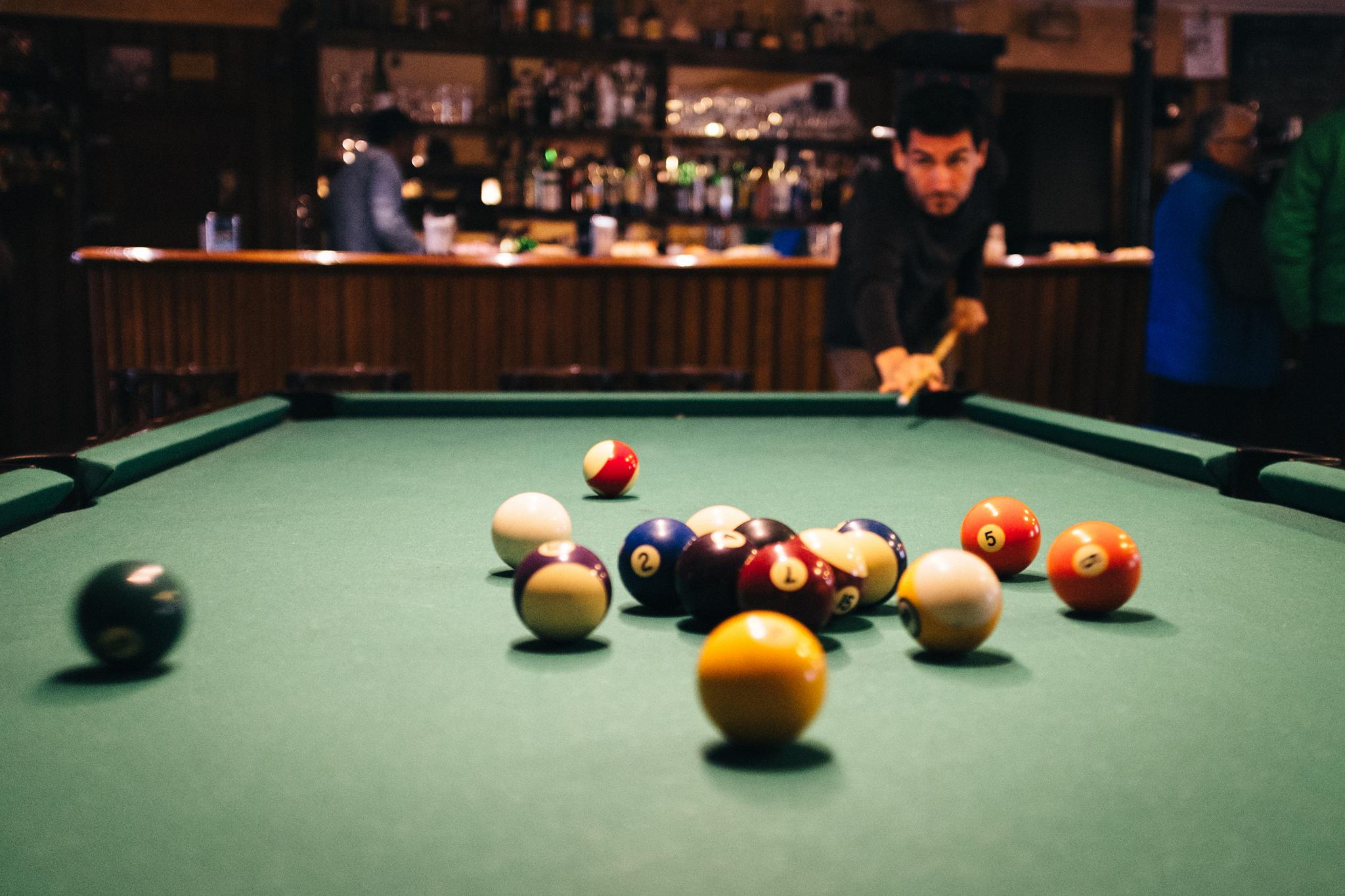 Billiard © Guillermo Alonso/flickr