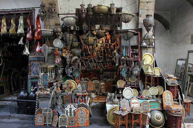Casablanca souk I © Rene Leubert/Flickr