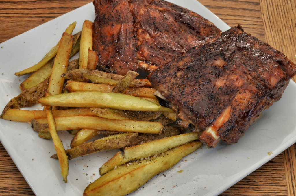 Ribs and Fries ©jeffreyw