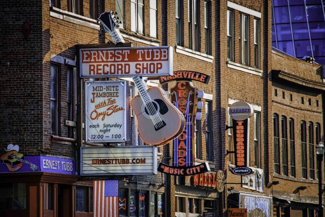 Ernest Tubb Record Shop © Jim Nix/Flickr