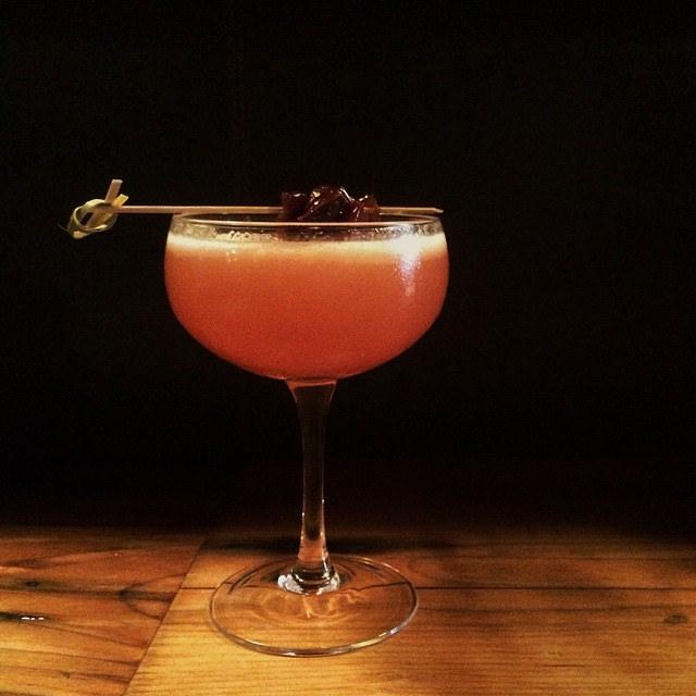 Cherry Blossom Cocktail [ © Thomas Hawk Flickr ]