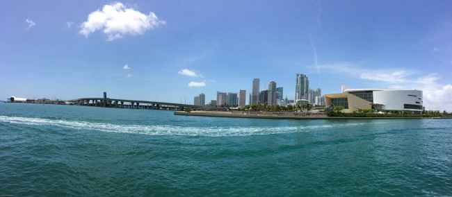 Panorama- Biscayne Bay © Brad Clinesmith/flickr
