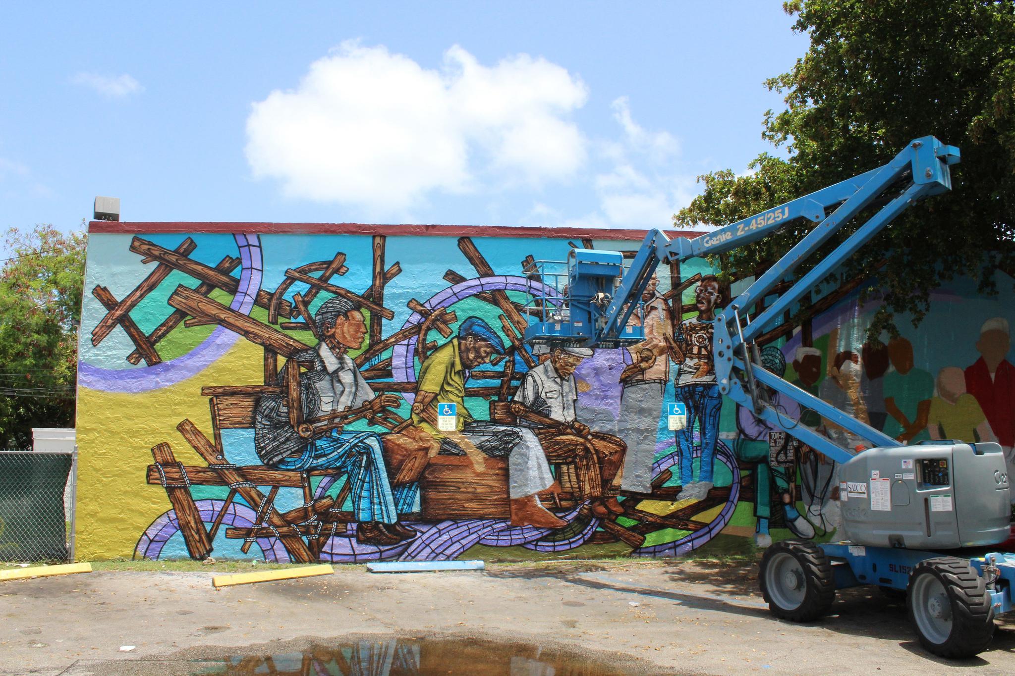 Mural Little Havana Calle Ocho © Phillip Pessar/flickr