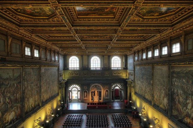 The Hall of Five Hundred | © Guillaume Piolle/Wikimedia Commons