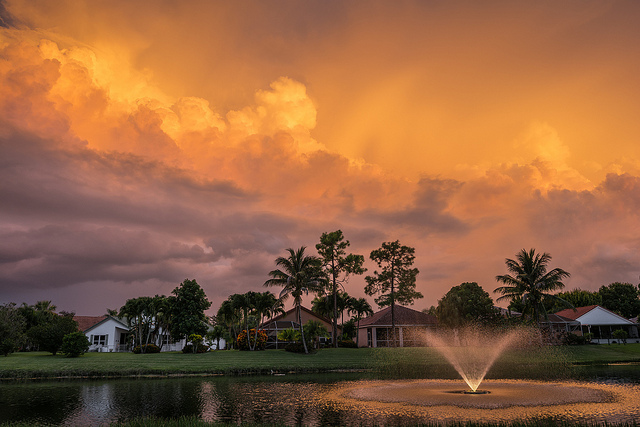 Sunset in Palm Beach I ©Natalya Nellis (Thanks to all who viewed and left comments)/Flickr