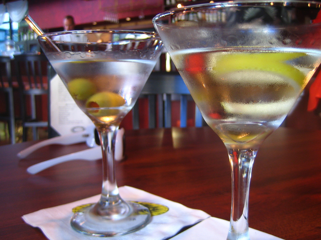 Martini with olives |© Rick/Flickr