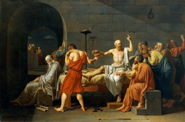 David, The Death of Socrates, 1787 | © Art Gallery ErgsArt - by ErgSap/Flickr