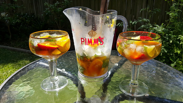 Sunday Afternoon Pimms © MD111/Flickr