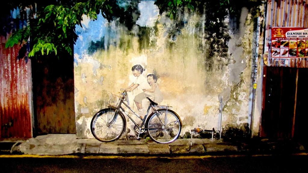 street art in georgetown, penang ©KevGuy4101