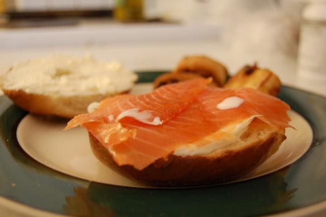 Smoked Salmon Bagel © stu_spivack/Flickr