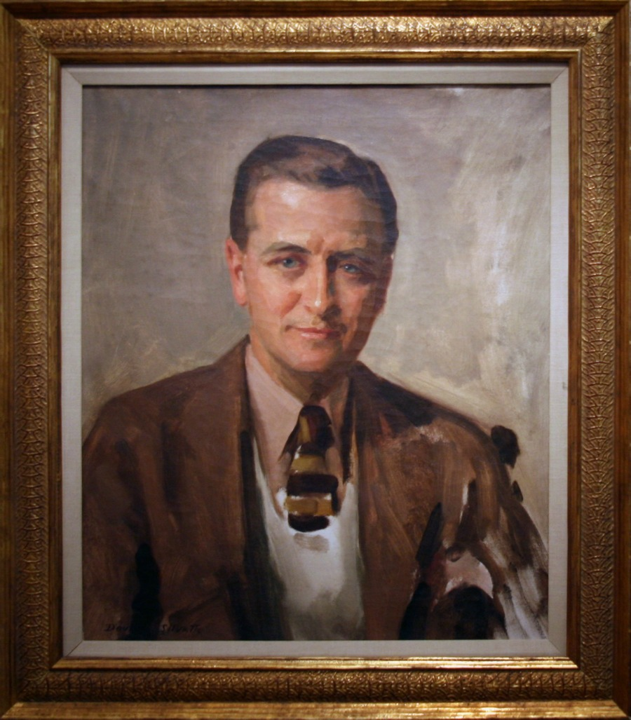 F. Scott Fitzgerald, 1935 by David Silvette, Oil on canvas| © Cliff/Flickr