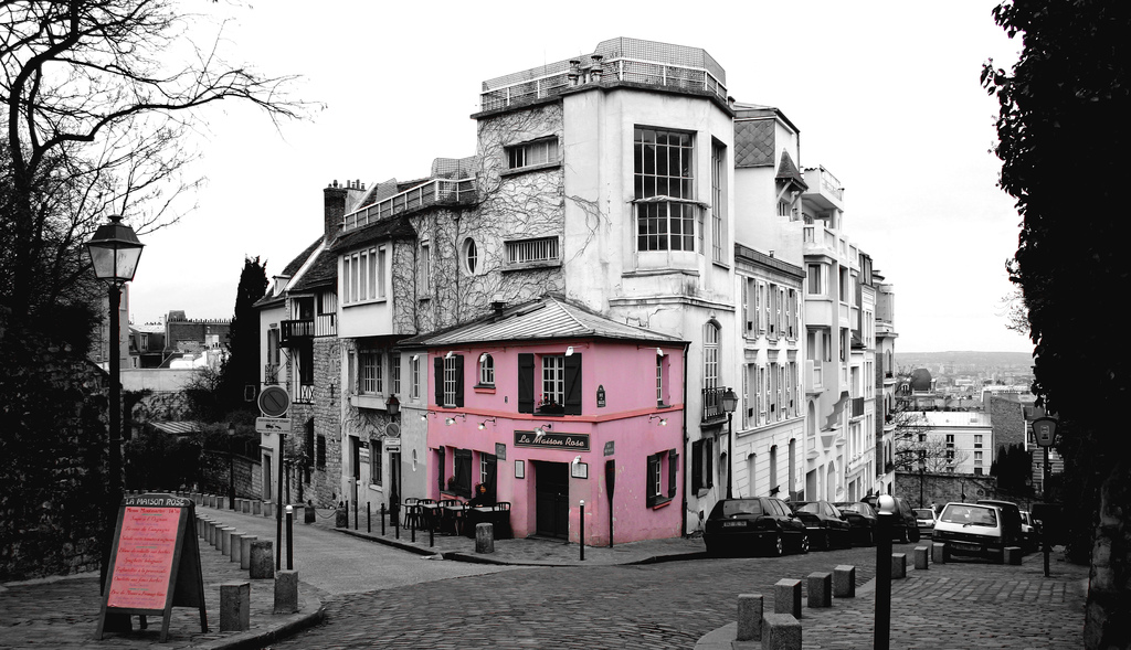 24 enchanting views of montmartre paris - La maison hantee paris ...
