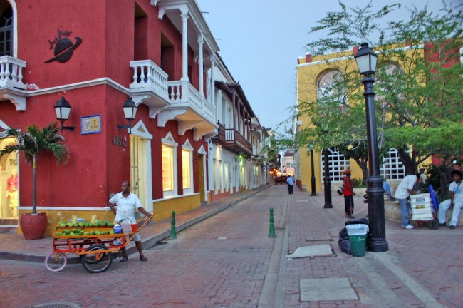 Streets of Cartagena, Colombia © Igvir Ramirez