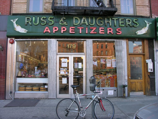 Russ & Daughters Appetizers | © Jeffrey Bary/Flickr