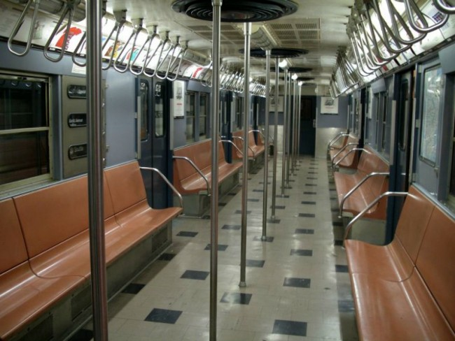 Vintage 1960's-era subway car © Matthew Rutledge/Flickr