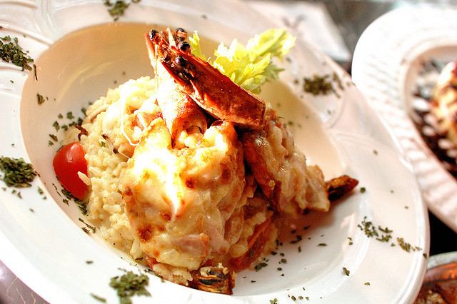 Seafood risotto I © Kevin/Flickr