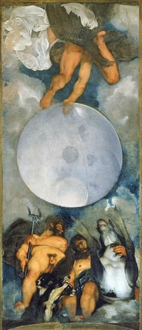 Caravaggio, Jupiter, Neptune and Pluto, c. 1597 | © Caravaggio/WikiCommons