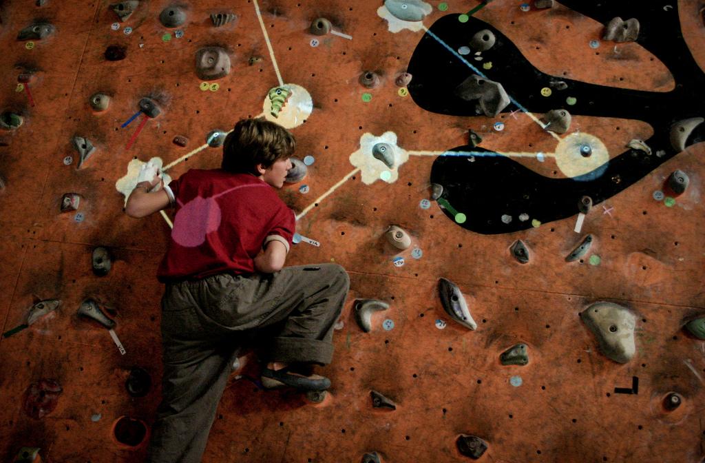 Interactive Climbing Wall | © Alessandro Valli/Flickr