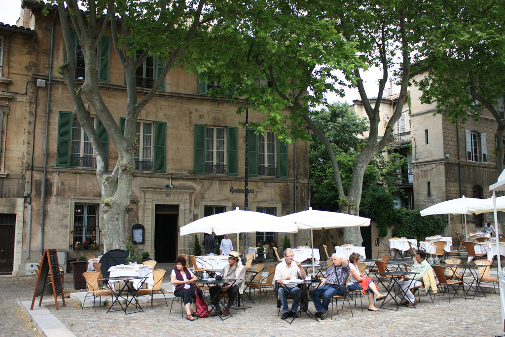 French Cafe Outside