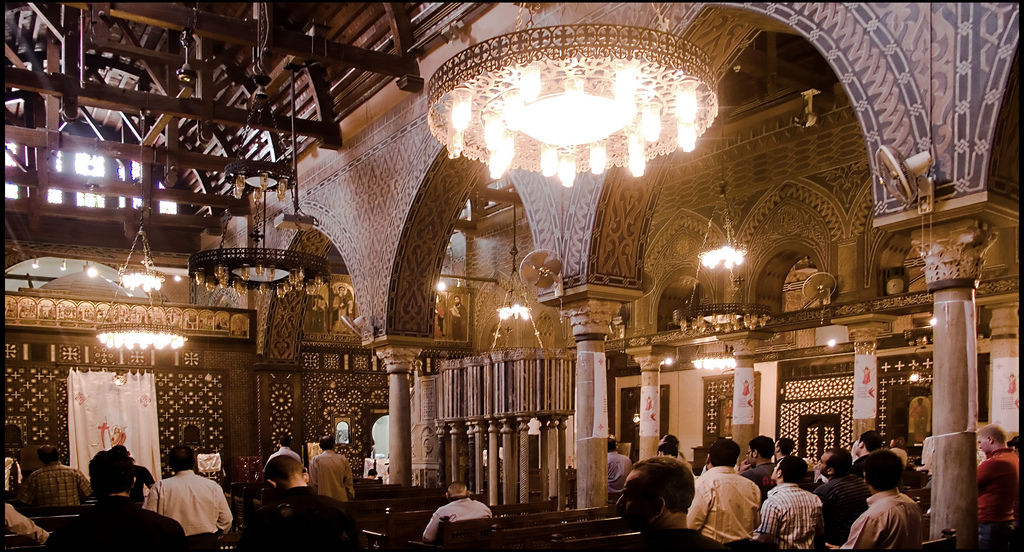 The interior of the Hanging Church   © Guillén Pérez/Flickr