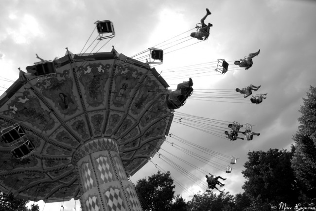 Flying Parisians at the Jardin d'Acclimatation | © Marc Lagneau/Flickr