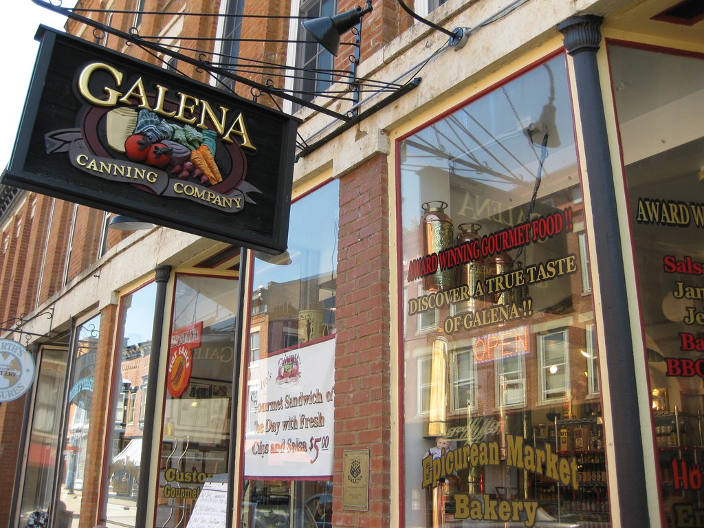 Galena Canning Company Storefront ©Richie Diesterheft