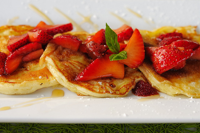 Cheesecake pancakes © Ralph Daily/Flickr