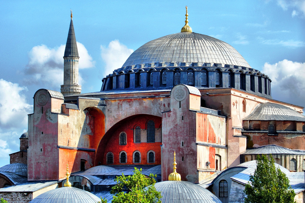 Hagia Sophia, Istanbul | © David Spender/Flickr
