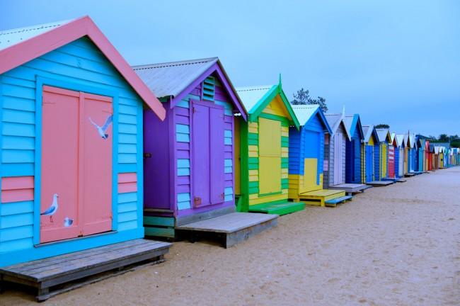 Brighton Beach | © Geoff Penaluna / Flickr