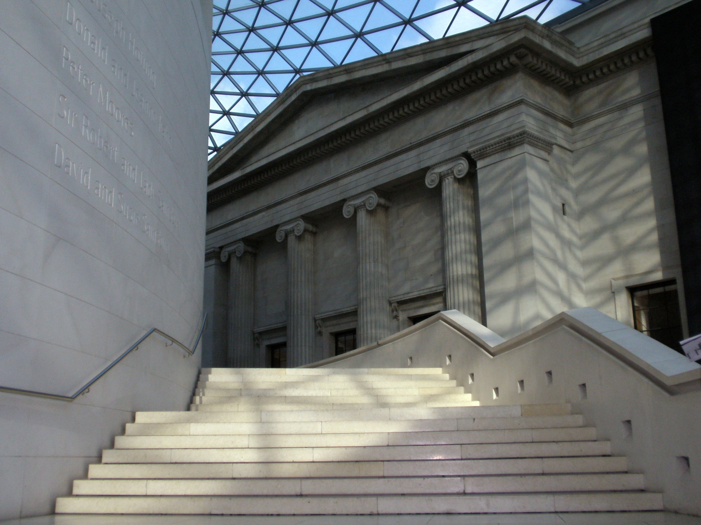 The Great Court. British Museum © Amanda Slater/ Flickr https://flic.kr/p/7cNHUo